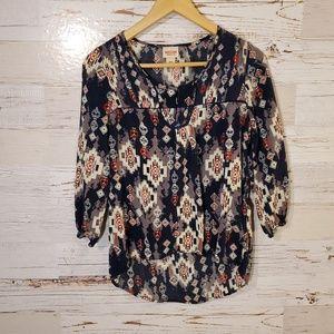 Mossimo Supply Co long sleeve blouse